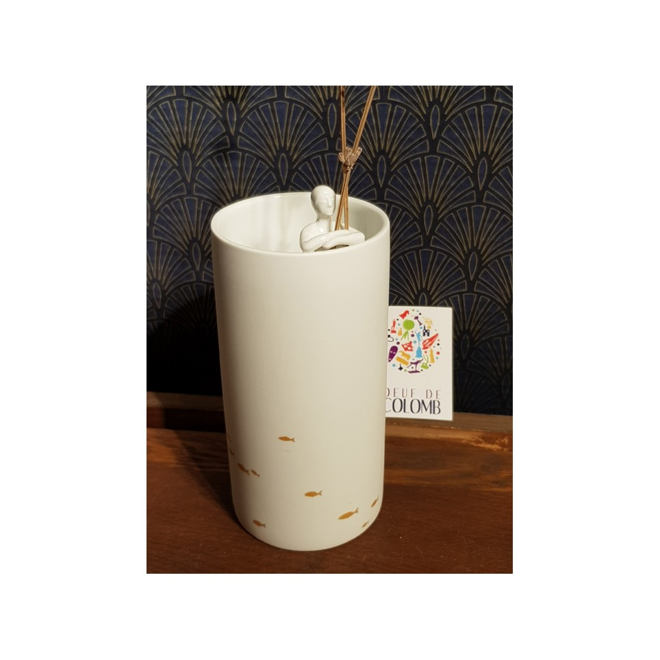 Vase femme porcelaine