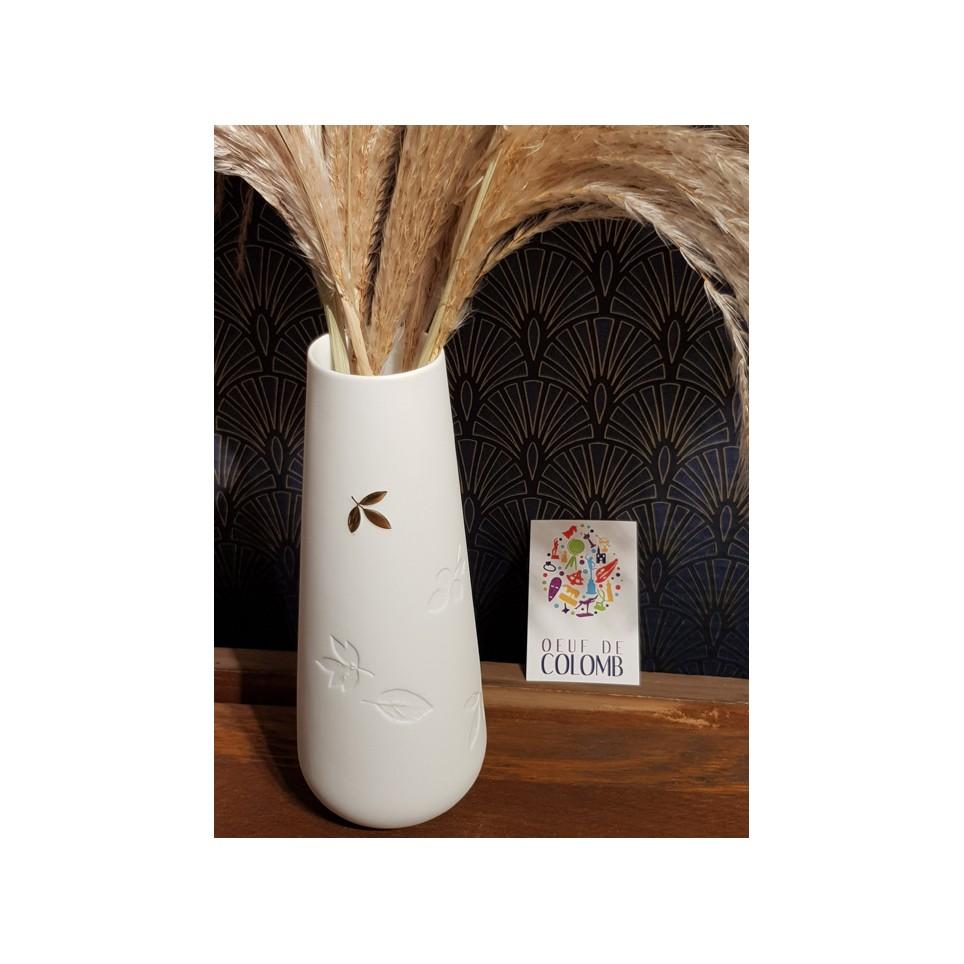 Vase floral porcelaine