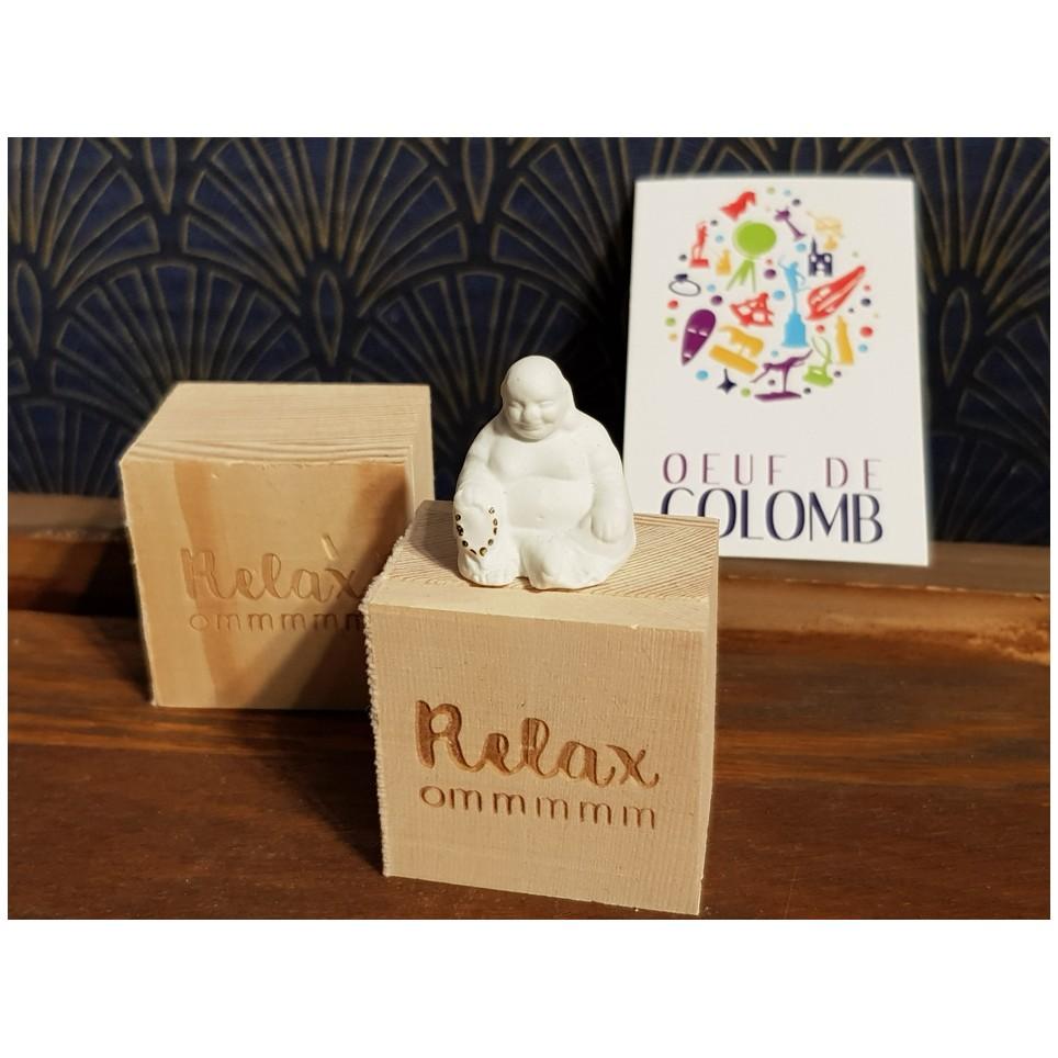 Petit Bouddha porcelaine