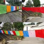 Drapeaux tibétains 27x25
