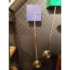 Pendule design bleu