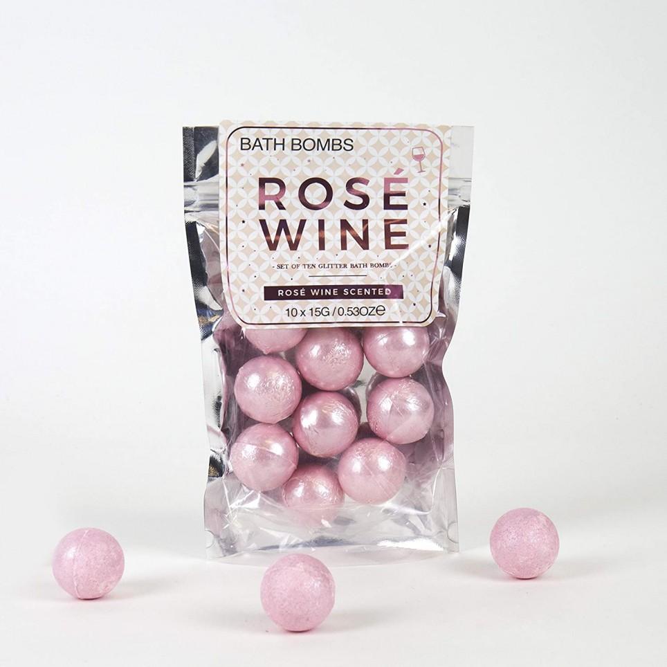 Bombes pour le bain Vin Rosé