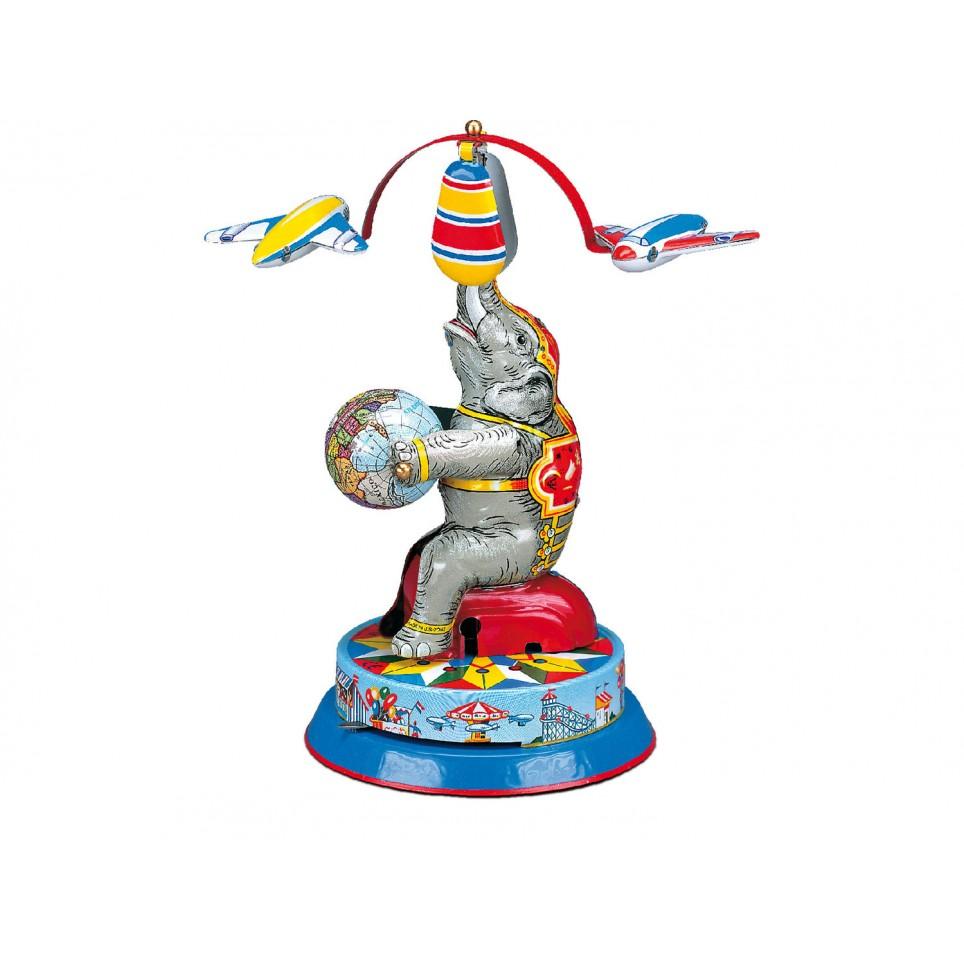 ELEPHANT AVEC 2 AVIONS AVEC REMONTOIR