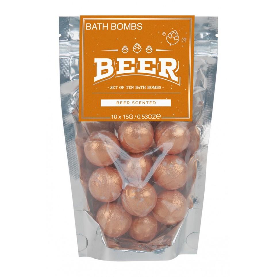 Beer bath bombs