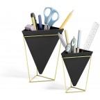 Vase à poser en céramique Noirs (par 2)