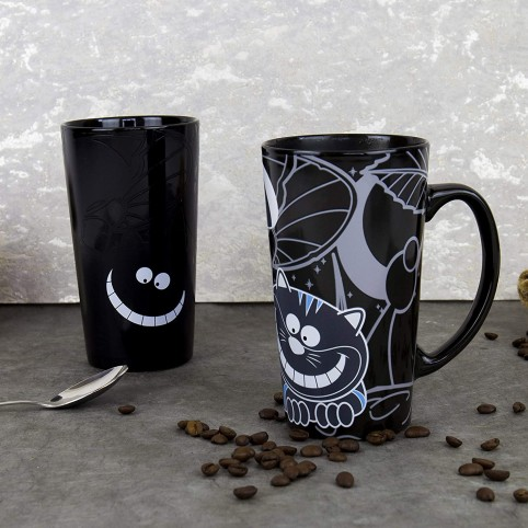 Mug/tasse Cheshire Cat thermoréactif