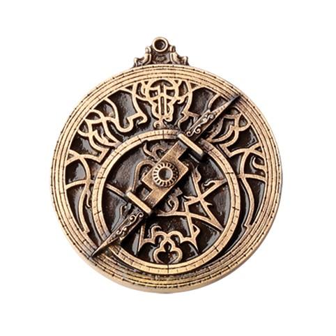 Broche astrolabe planisphèrique