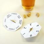 BAR GAMES DRINK MATS